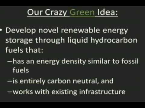 Carbon Neutral Fuels - Our Crazy Green Idea!