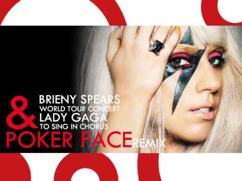Britney Spears + Lady GaGa  Poker Face Circus