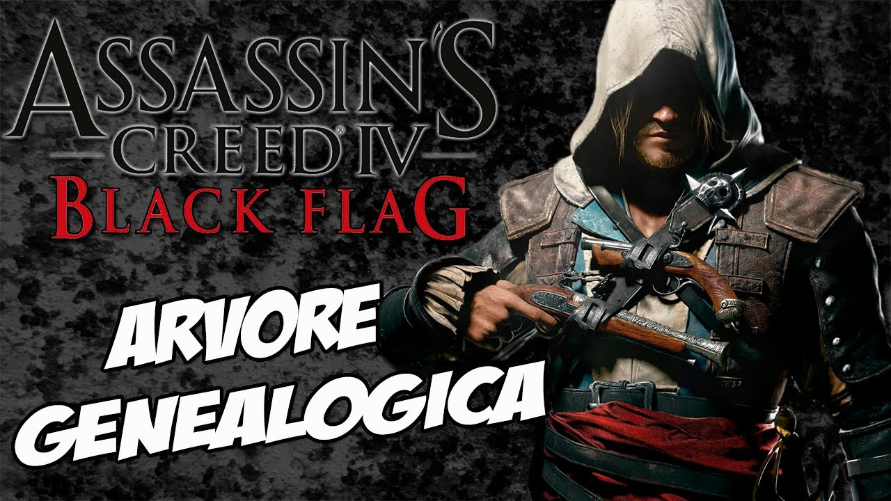 assassins s creed 4 black flag easter egg arvore genealógica do