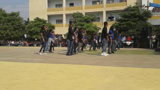 cvsr college of engineering flash mob 2k17