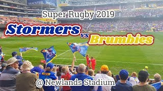 #29 The Stormers VS Brumbies -Super Rugby 2019 at Newlands Stadium -旅ちゃずけラジオ-