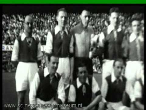 SVV - Heerenveen met Abe Lenstra in de Kuip 1949