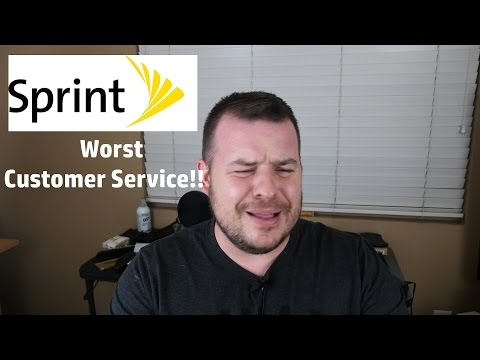 Sprint Customer Service Is The Worst