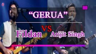 WOW Fildan Bau Bau VS Arijit Singh-Gerua #sama sama hebat bukan?