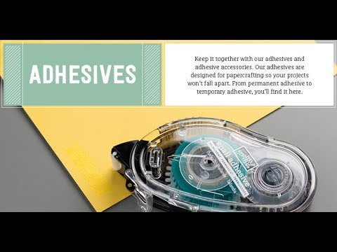 Pootles' Tips - Stampin' Up! Adhesives