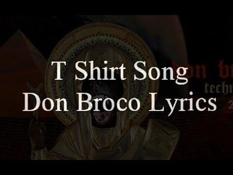 Don Broco || T-shirt Song || Lyrics