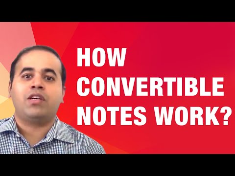 How Convertible Notes Work | Wadhwani Foundation