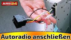 Autoradio richtig anschließen! Radio geht nicht an, oder es speichert sich keine Sender?