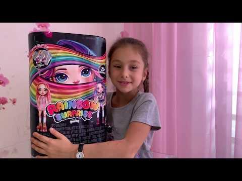 Распаковка Новинки Poopsie Girls. Набор Пупси для создания слайма с куклой Poopsie Rainbow Girls.