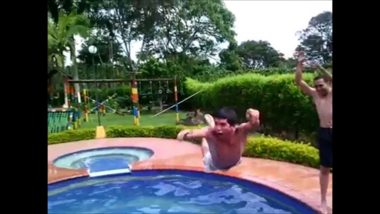 Piscina parche youtube for Parches piscina