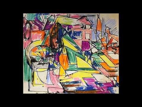 Hans Hofmann  漢斯·霍夫曼 (1880-1966)  Abstract Expressionism  America