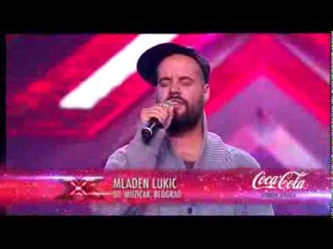 Mladen Lukic (Ready For Love - India Aire)  audicija - X Factor Adria - Sezona 1