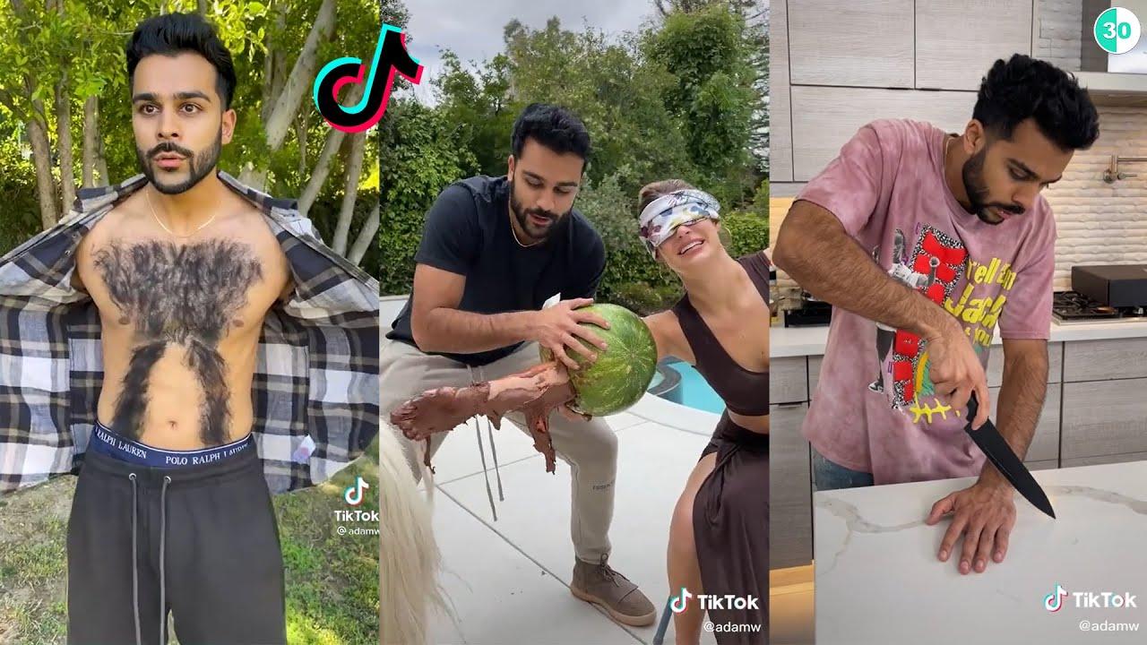 Adam Waheed New TikTok Videos Compilation 2021   Funny Adam Waheed TikToks