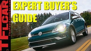 Watch This Before You Buy a Golf Wagon: 2018 Golf Sportwagen & Alltrack TFL Expert Buyer's Guide