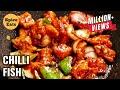 CHILLI FISH | CHILLI FISH RECIPE | RESTAURANT STYLE CHILLI FISH