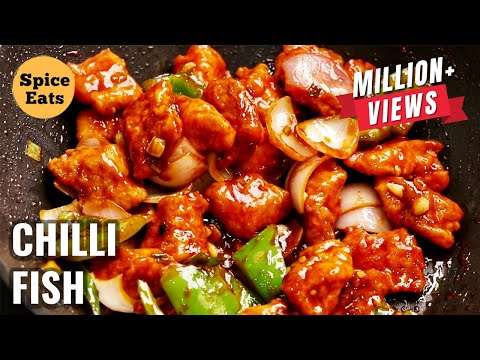 CHILLI FISH | CHILLI FISH RECIPE | RESTAURANT STYLE CHILLI FISH