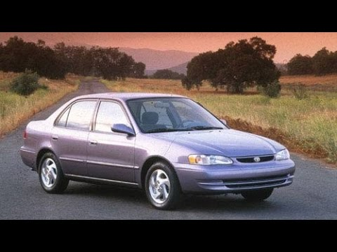 1998 toyota corolla start up and review 1 8 l 4 cylinder youtube. Black Bedroom Furniture Sets. Home Design Ideas