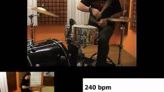 Sick Drummer Magazine Issue 21 - Marthyn Jovanovic - Hand Technique Tutorial
