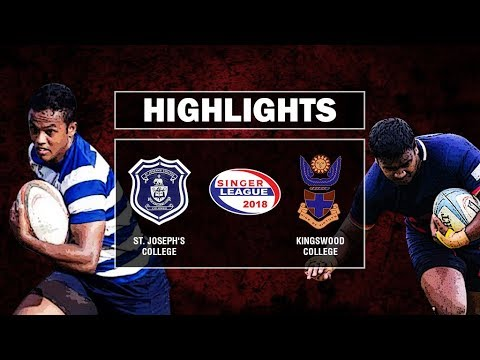 Match Highlights - St. Joseph' College v Kingswood College Schools Rugby #25