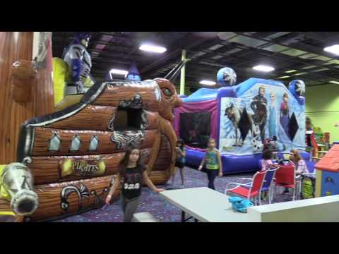 Tampa Birthday Parties at Jump Zone, Indoor Bounce House Oldsmar, Palm Harbor East Lake FL
