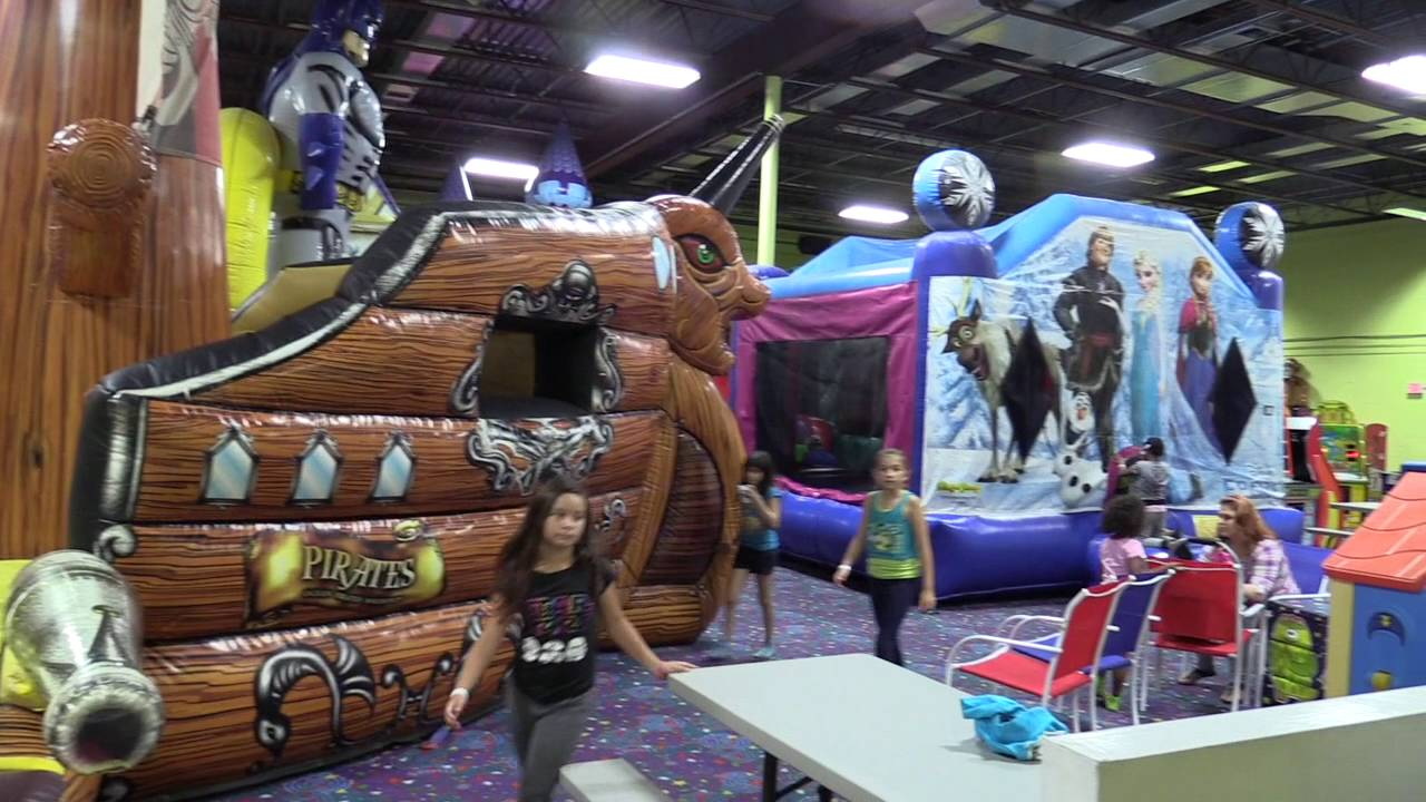 Tampa Birthday Parties At Jump Zone Indoor Bounce House Oldsmar Palm Harbor East Lake FL