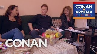 Conan promised Sona's family he'd find her an Armenian husband, but the pickings are a bit slim. More CONAN @ http://teamcoco.com/video Team Coco is the ...