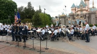 United States Air Force Band at Disneyland (Part 1 of 3)