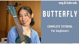 BTS (방탄소년단) - Butterfly (UKULELE TUTORIAL) by Chairia Tandias