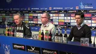 14. Spieltag / MSV - SC Freiburg / Stimmen