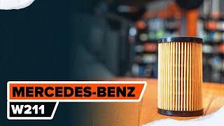 Cómo reemplazar Disco de freno MERCEDES-BENZ E-CLASS (W211) - tutorial