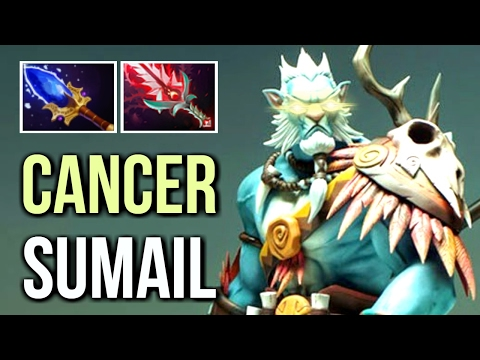 PL Scepter Most Annoying Build by Sumail Cancer Gameplay MMR 7.02 Dota 2