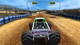 Toca Race Driver 3 - MONSTER TRUCK - GAMEPLAY - PC