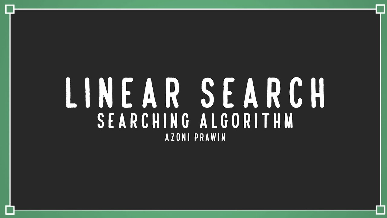 Linear Search Algorithm in Python | Data Structure | Searching Algorithm