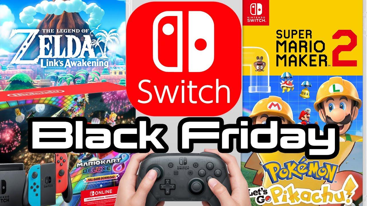 Best Nintendo Switch Black Friday Deals Zelda Mario And Bundle Youtube