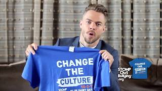 Derek Hough BLUE SHIRT DAY® WORLD DAY OF BULLYING PREVENTION™ 2017
