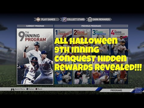 Mlb The Show 19 All Halloween Conquest Rewards Revealed