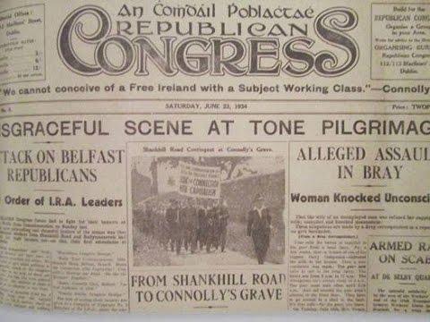 Ireland and the Spanish Republic. (Part 2) 80th anniversary of the Spanish Civil War.