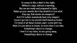 "Thousand Foot Krutch : ""War Of Change"" Lyrics"