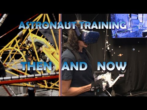 Astronaut Training: Then and Now