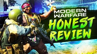 Honest Review of Modern Warfare + My First Game and Reactions