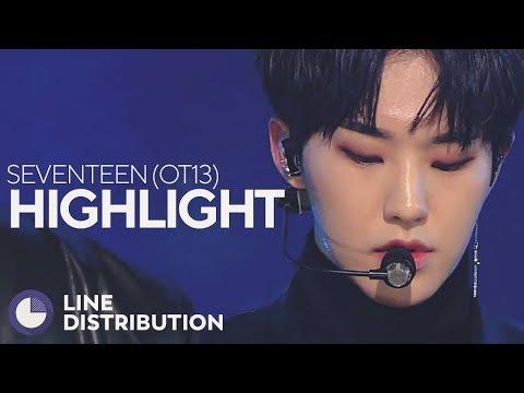 SEVENTEEN - HIGHLIGHT (OT13 Ver.) (Line Distribution)