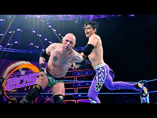 Humberto Carrillo vs. Rob Rollenbeck: WWE 205 Live, June 25, 2019