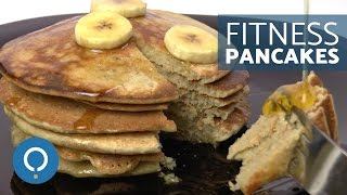 FITNESS OATMEAL PANCAKES - Light Pancake Recipe
