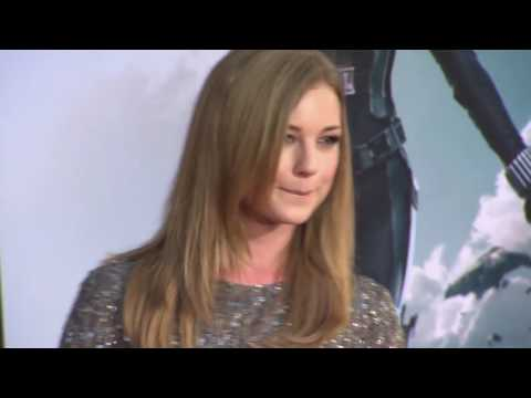 Captain America: the Winter Soldier Los Angles Premiere Footage