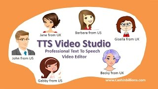 Best Video Editor Online | TTS Video Studio | Text To Voice Solution