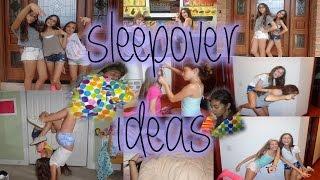 Sleepover Activities And Treat Ideas
