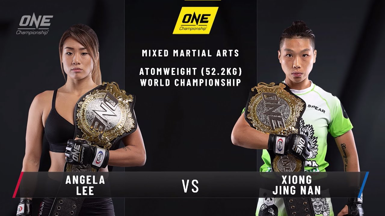 Angela Lee vs. Xiong Jing Nan 2 | ONE: CENTURY Open Workout