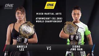 Angela Lee vs. Xiong Jing Nan 2 | ONE: CENTURY Open Workout