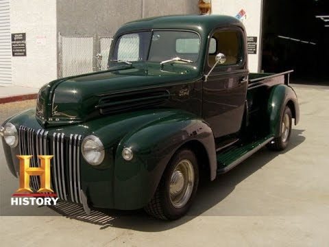 Counting Cars Restored 42 Ford Pickup History Youtube