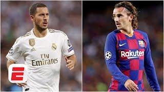 Has Antoine Griezmann or Eden Hazard been the bigger letdown so far this season? | La Liga